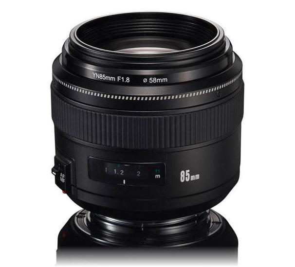 Полнокадровый объектив YN85mm F1.8 стоит $256