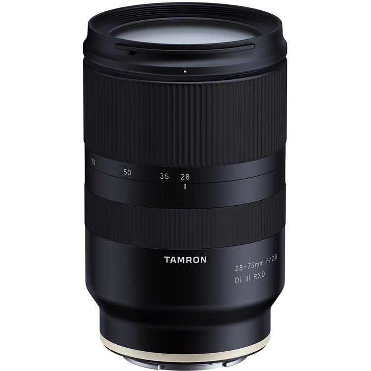Представлен полнокадровый объектив Tamron 28-75mm F/2.8 Di III RXD (Model A036)
