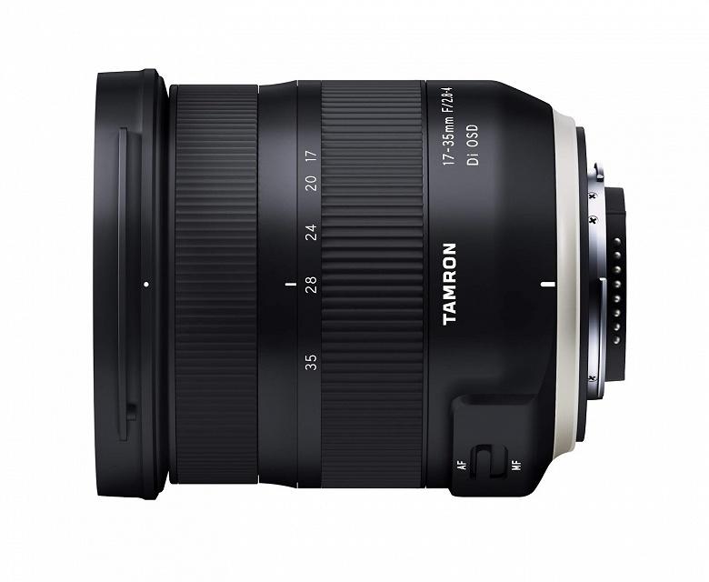 Появились изображения и спецификации объектива Tamron 17-35mm F/2.8-4 Di OSD (model A037)