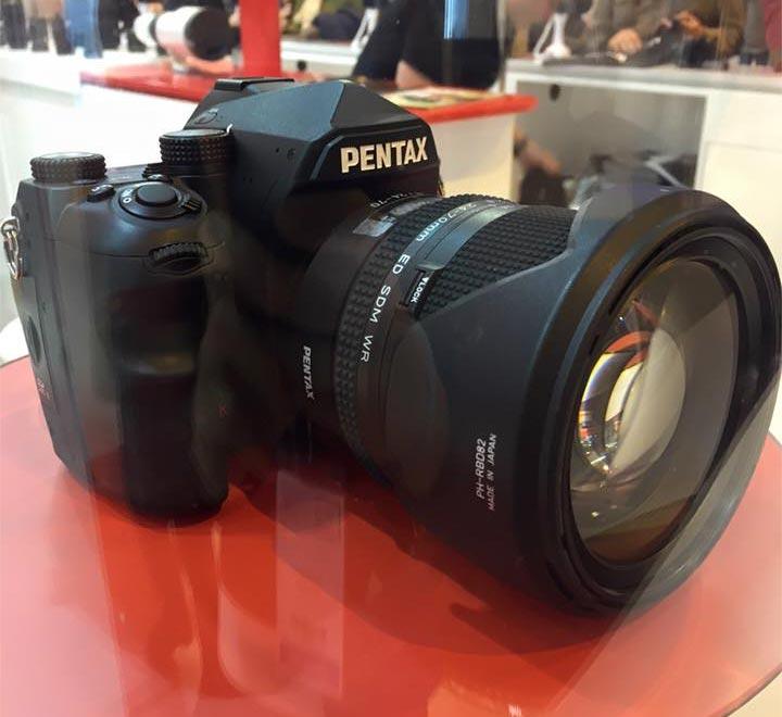 Анонс полнокадровой зеркальной камеры Pentax запланирован на весну 2016 года