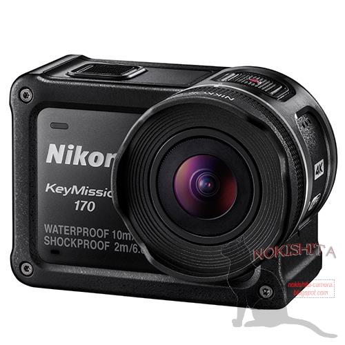 Анонс камеры Nikon KeyMission 170 намечен на 19 сентября