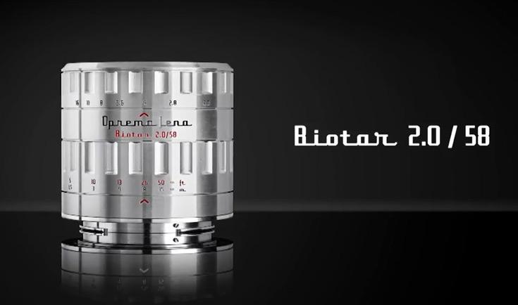 Объектив Biotar 58mm F2 с диафрагмой из 17 лепестков оценен в $949