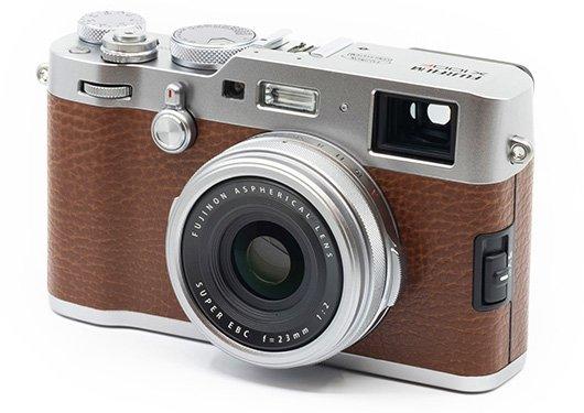 Представлен новый вариант компактной камеры Fujifilm X100F формата APS-C