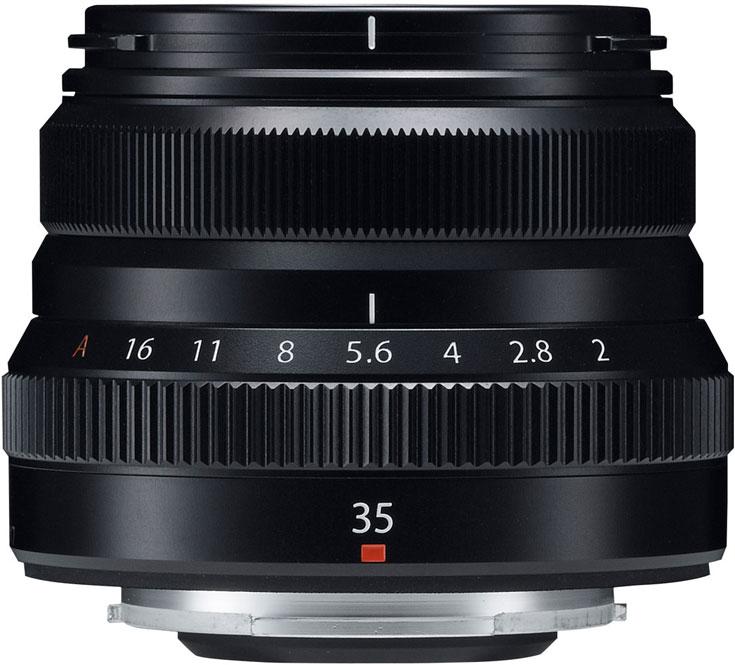 Объектив Fujinon XF35mmF2 R WR появится в продаже в декабре по цене $449