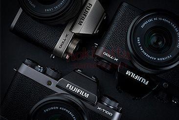 Появилось первое изображение беззеркальной камеры Fujifilm X-T100