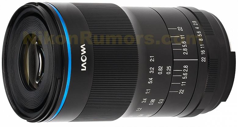 Venus Optics скоро представит макрообъектив с креплением Nikon F