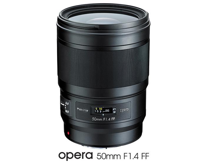 Модель Tokina opera 50mm F1.4 FF открыла новую серию объективов