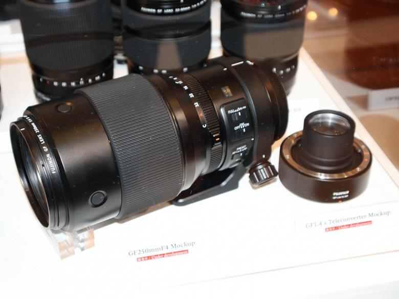 Спецификации объектива Fujinon GF 250mm F/4 R LM OIS WR и телеконвертора Fujinon GF 1.4x TC WR появились накануне анонса