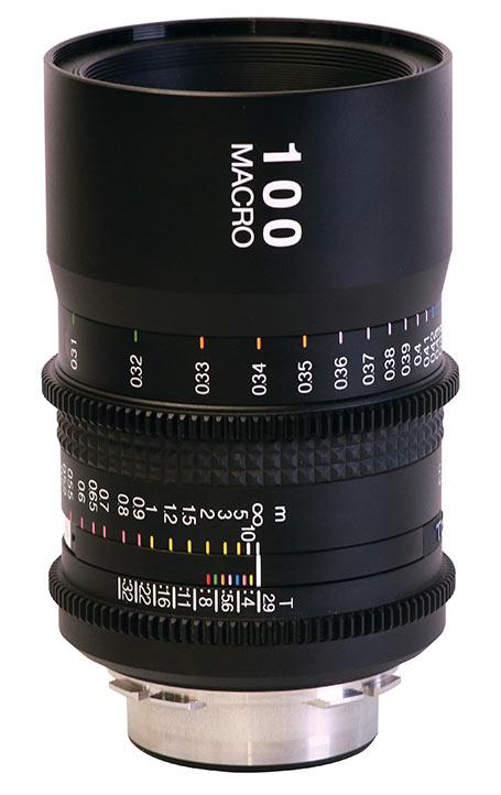 Полнокадровый объектив Tokina Cinema ATX 100mm T2.9 Macro доступен в вариантах с креплениями PL, Canon EF, Sony E, Nikon F и Micro Four Thirds