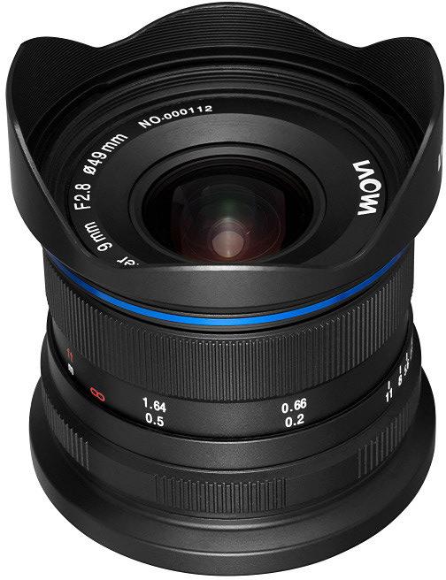 Объектив Venus Optics Laowa 9mm f/2.8 Zero-D будет выпускаться в вариантах с креплениями Fujifilm X, Canon EF-M и Sony E