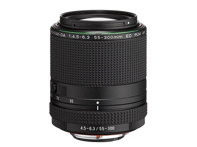 В продаже объектив Pentax 55-300mm F4.5-6.3 ED PLM WR RE должен появиться в июле