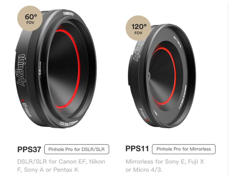 Любой из семи вариантов Pinhole Pro S стоит $51