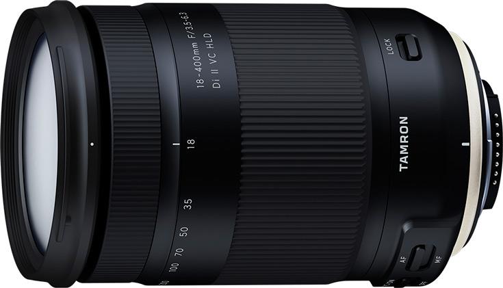Объектив Tamron 18-400mm F/3.5-6.3 Di II VC HLD (B028) предназначен для цифровых зеркальных камер формата APS-C