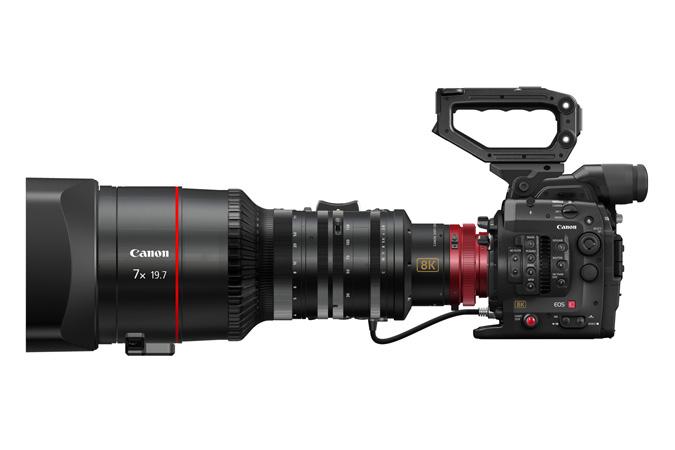 Canon разрабатывает видеокамеру Cinema EOS System 8K, референсный монитор 8K и зеркальную камеру разрешением 120 Мп