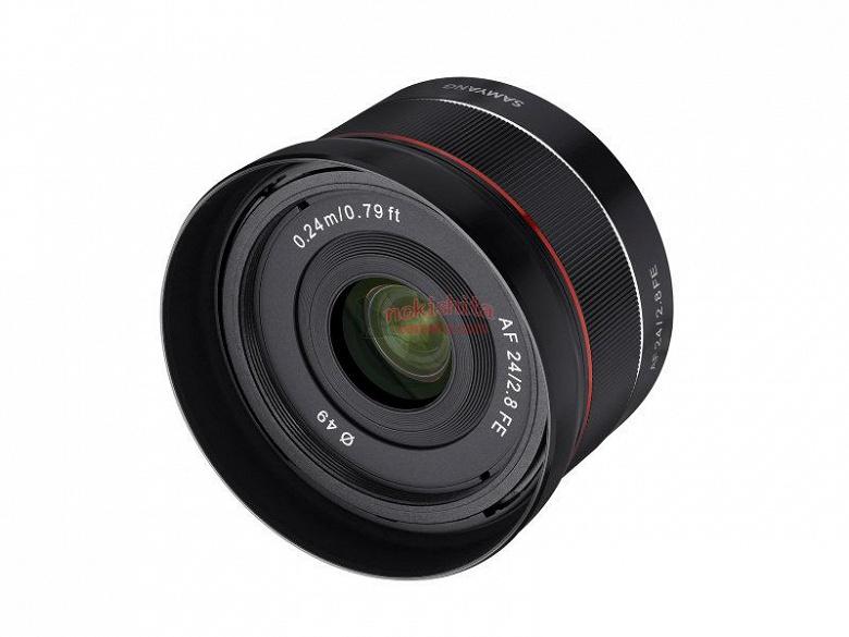 Появились первые изображения объектива Samyang AF 24mm F2.8 FE