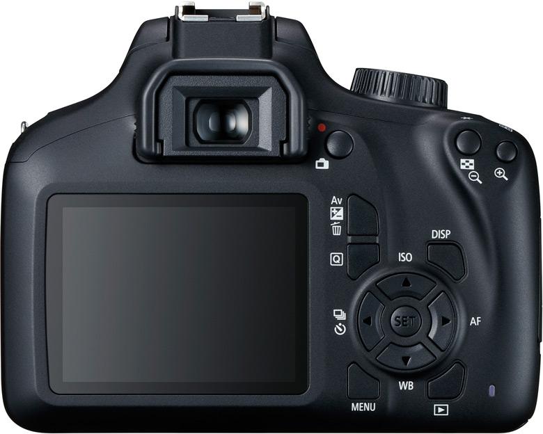 Камера Canon EOS 4000D относится к начальному уровню