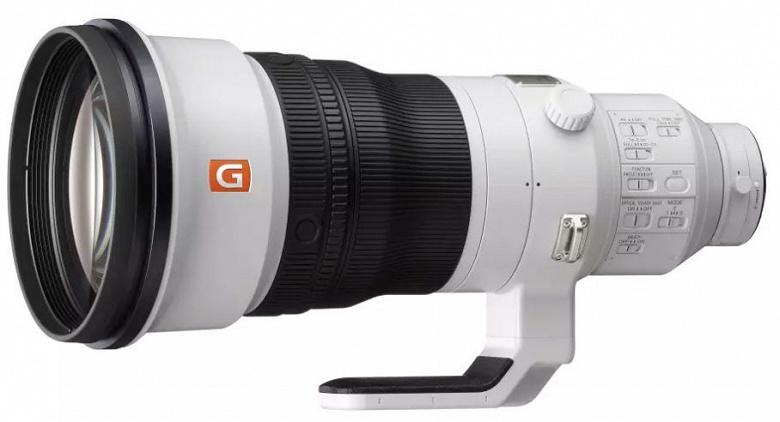Представлен объектив Sony FE 400mm F2.8 GM OSS
