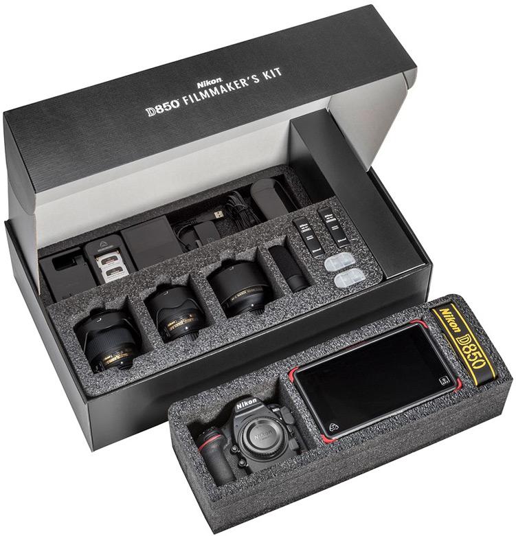 Цена набора Nikon D850 Filmmaker's Kit равна $5500