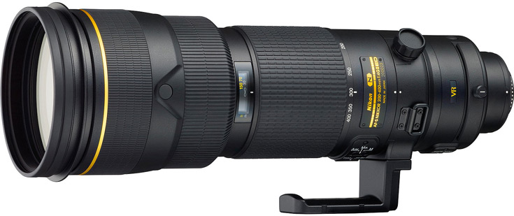 Анонс объектива Nikon AF-S Nikkor 200-400mm f/4E ED VR ожидается ближе к концу года