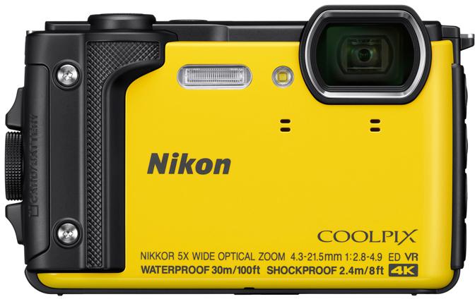 Представлена компактная камера в защищенном исполнении Nikon Coolpix W300
