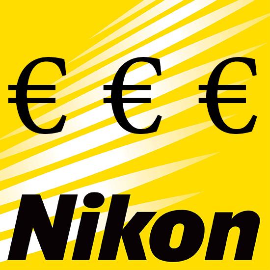 Продукция Nikon в Европе дорожает