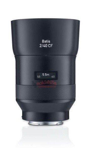 Появились изображения объектива Zeiss Batis 2/40 CF