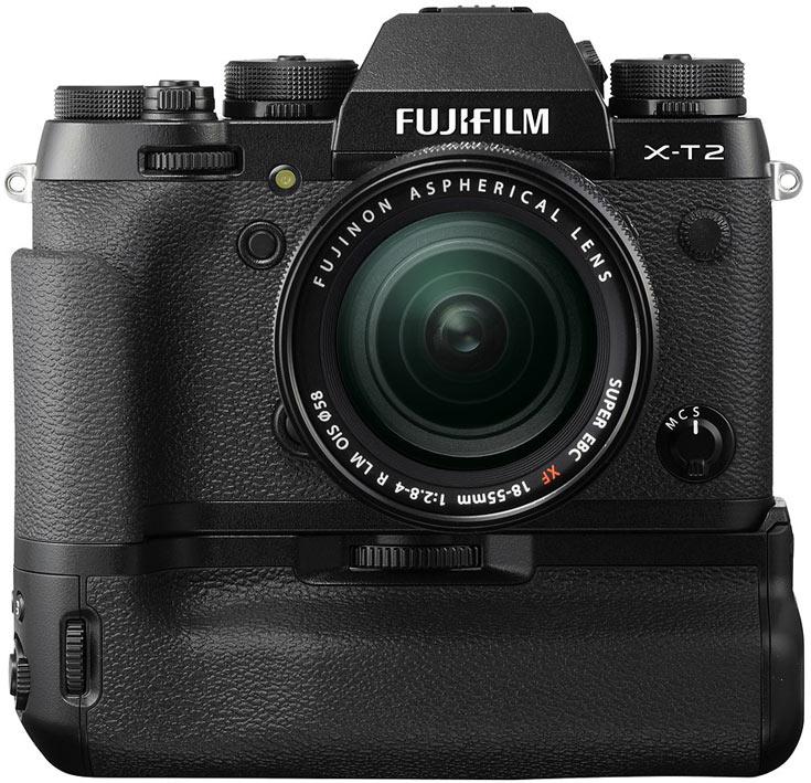 Продажи Fujifilm X-T2 начнутся в сентябре