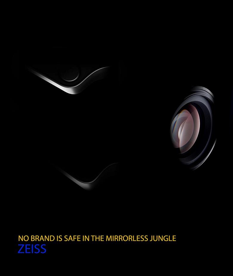 Тизер беззеркальной камеры Zeiss