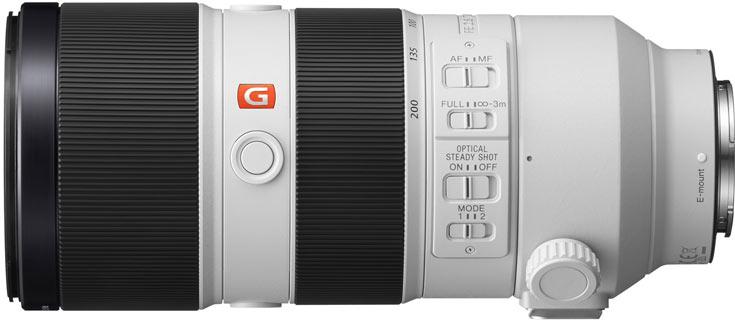 Объектив Sony FE 70-200mm F2.8 GM OSS