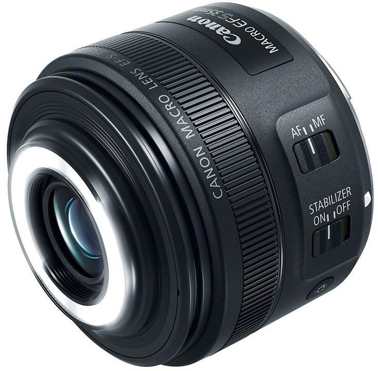 Объектив Canon EF-S 35mm f/2.8 Macro IS STM должен появиться в продаже в июне