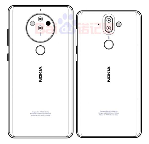 Новые эскизы дают представление, как может быть устроена «пятерная» камера смартфона Nokia 10