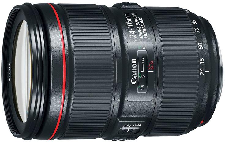 Объектив Canon EF 24-105mm F4L IS II USM оценен в $1100
