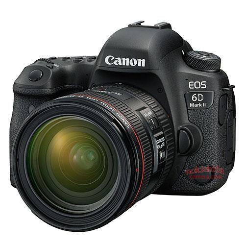 Анонс камеры Canon EOS 6D Mark II ожидается 29 июня