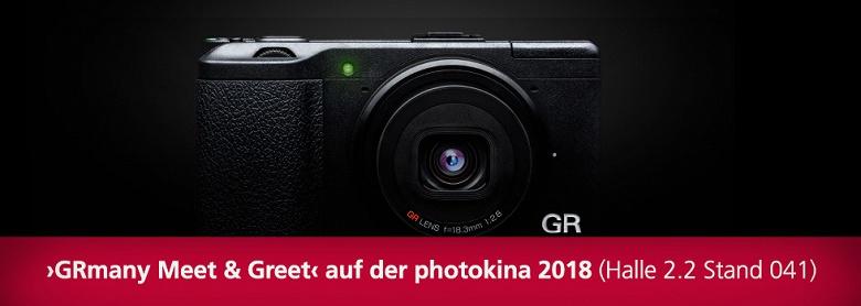 Компактную камеру Ricoh GR нового поколения представят на выставке Photokina 2018