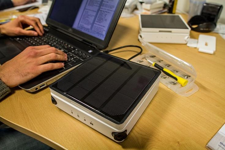Камера Enlaps Tikee оснащена беспроводными интерфейсами