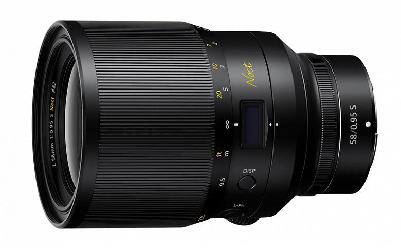 В плане выпуска объективов для камер Nikon Z на будущий год — шесть моделей, включая Nikkor Z 58mm f/0.95 S Noct