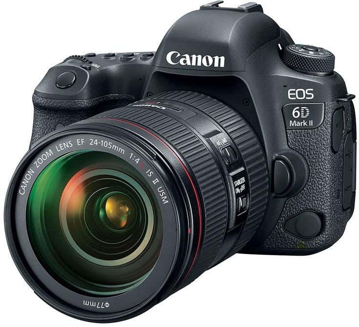Canon EOS 6D Mark II — первая полнокадровая камера семейства, в которой появилась функция стабилизации изображения в процессе видеосъемки