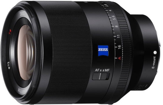 Полнокадровый объектив Sony FE 50mm F1.4 ZA оценен в 1800 евро