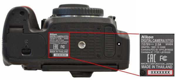 Диагностика и ремонт Nikon D750 выполняются бесплатно даже после истечения гарантийного срока