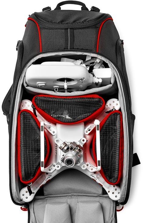 Manfrotto Aviator D1 Drone Backpack — первый рюкзак для фототехники с отделением для дрона