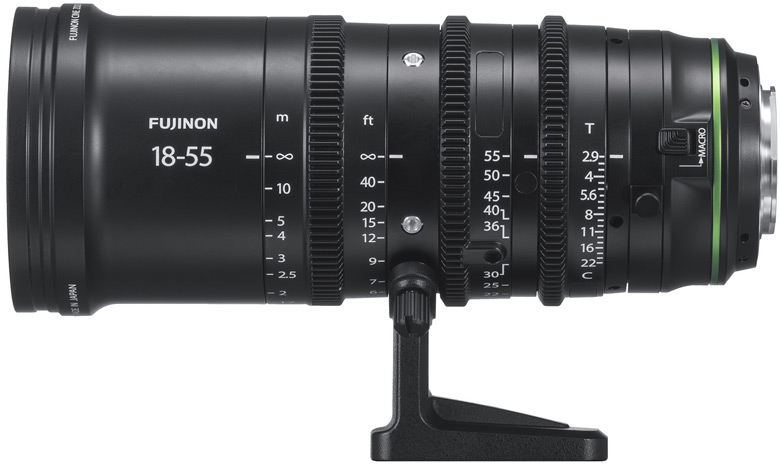 Объективы Fujinon MKX18-55MMT2.9 и Fujinon MKX50-135MMT2.9 предназначены для беззеркальных камер с креплением Fujifilm X