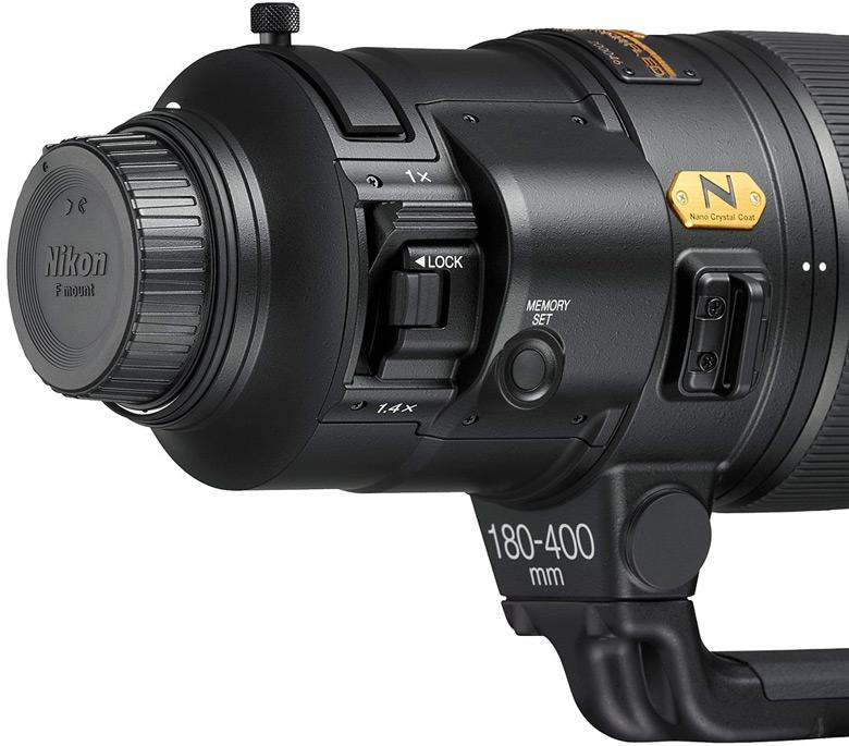 Представлен телеобъектив AF-S Nikkor 180-400mm F/4E TC1.4 FL ED VR