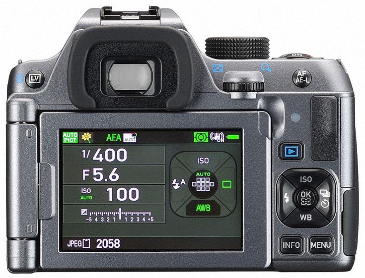 В камере Pentax K-70 установлен датчик изображения формата APS-C разрешением 24 Мп