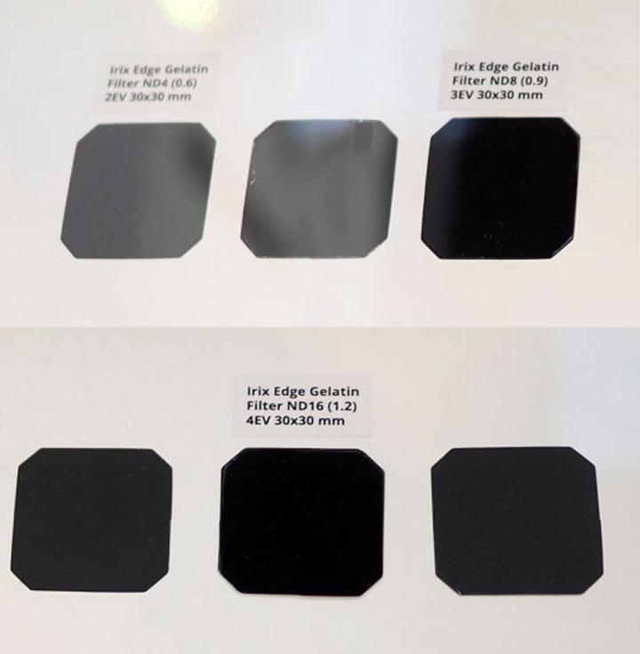 Кроме того, производитель показал фильтры для объективов Irix