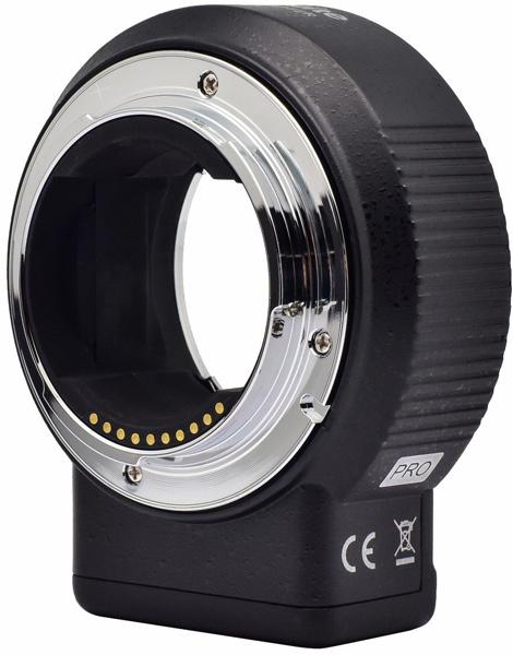 Адаптер Commlite ENF-E1 Pro ver.05 поддерживает автоматическую фокусировку