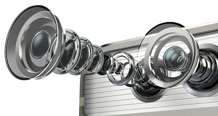 Сдвоенные камеры позволяют повысить светочувствительность, эмулировать оптический зум и эффект размытия фона