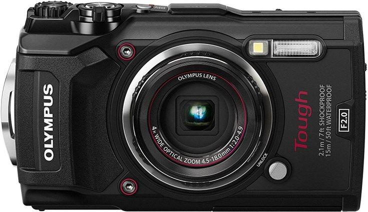 Камера Olympus Stylus Tough TG-5 адресована любителям активного отдыха