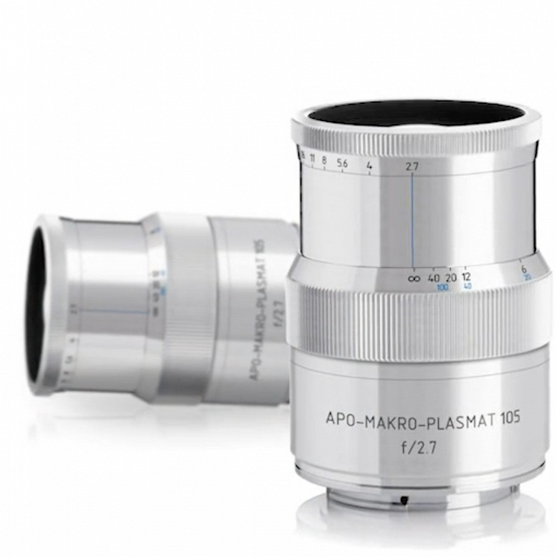 Средства на выпуск объектива APO-Makro-Plasmat 105 f/2.7 уже собраны с большим запасом