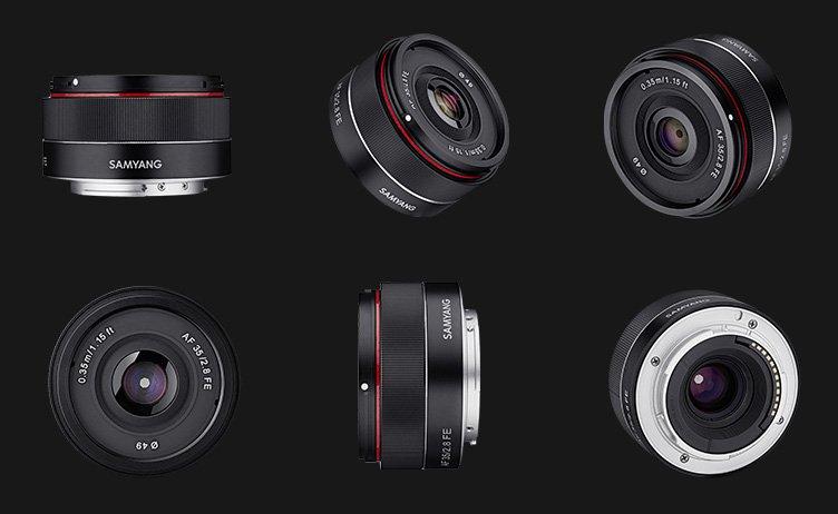 В июне владельцев камер с креплением Sony FE может ждать сюрприз