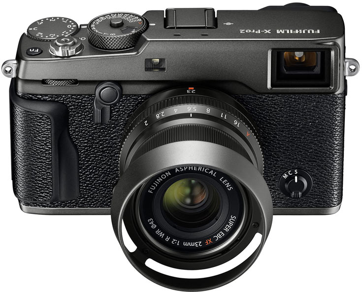 Камера будет продаваться в комплекте с объективом Fujinon XF23mm F2 R WR и блендой LH-XF35-2